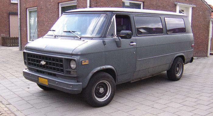 1982 Chevy Van